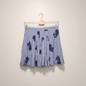 Aritzia Sunday Best Lavender Floral Mini Skirt 6